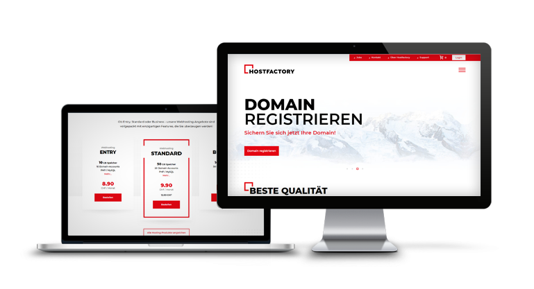 Das Webhosting Angebot von Hostfactory