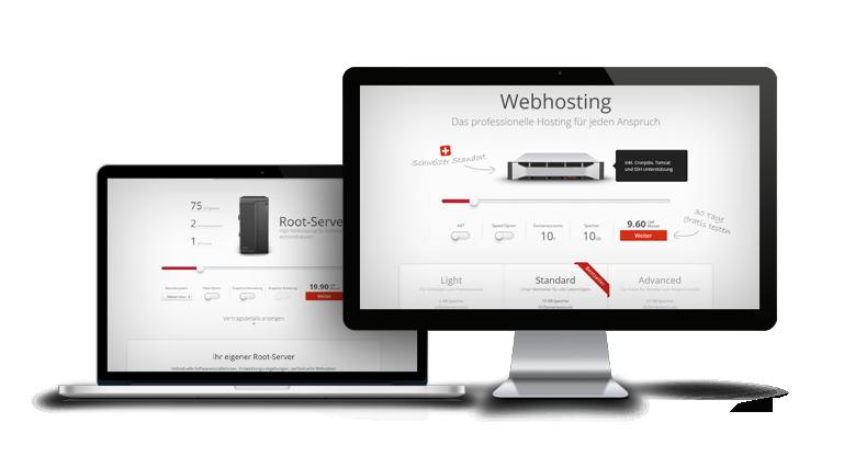 Das Webhosting Angebot von Hostfactory